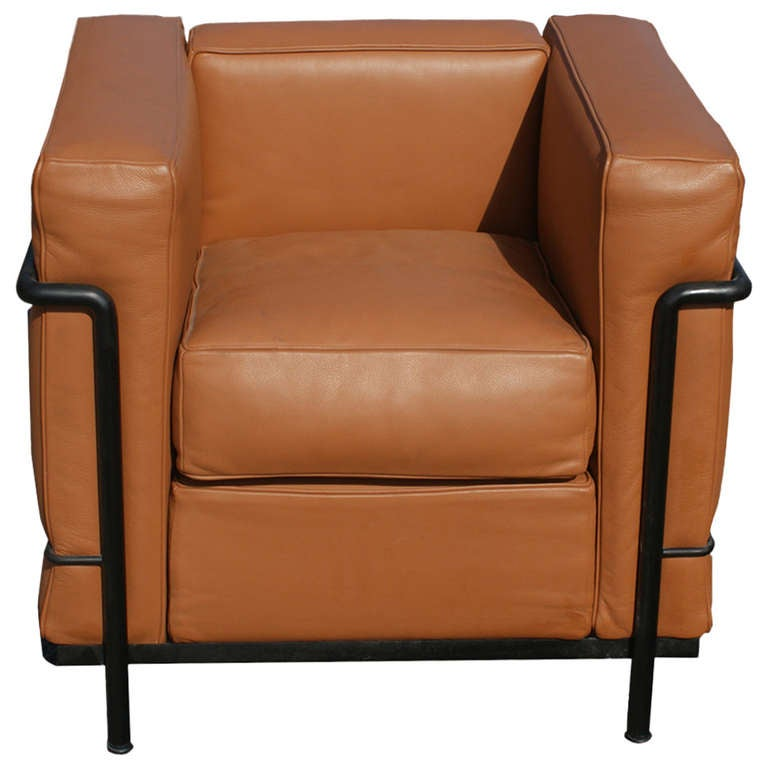 Petite Cassina Le Corbusier LC2 Armchair at 1stdibs