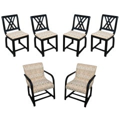 Gilbert Rohde for Heywood Wakefield Dining Chairs