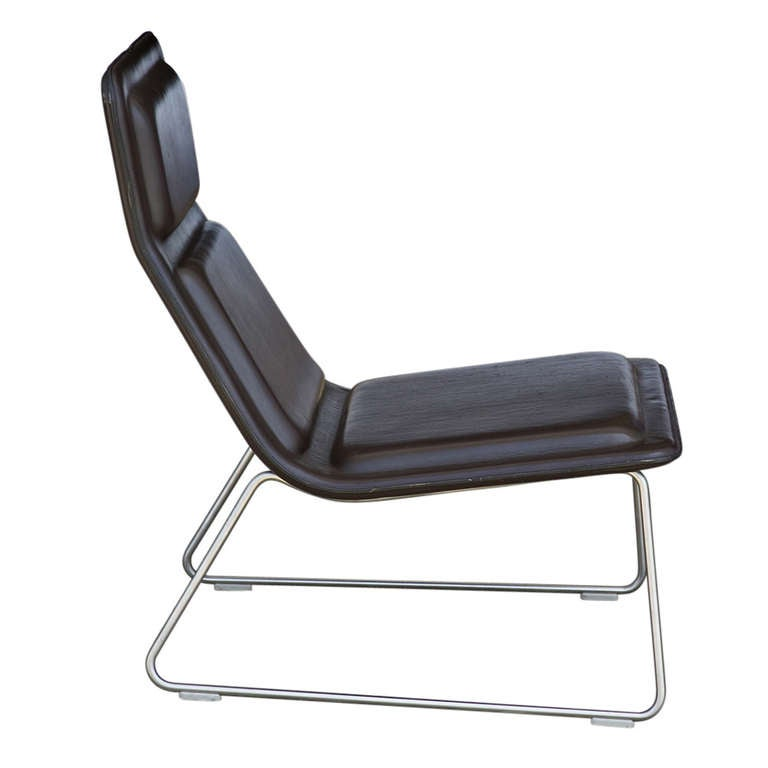 Jasper Morrison For Cappellini Low Pad Lounge Chair at 1stdibs