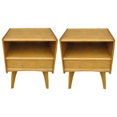 Pair of Heywood Wakefield M578 Trophy Night Stands