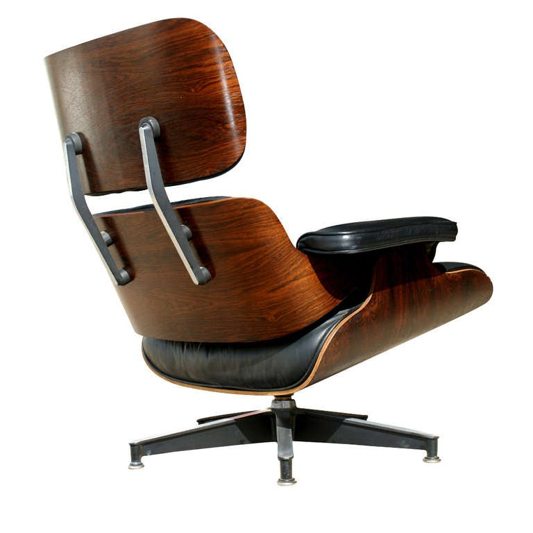Eames for herman miller 670 lounge chair and ottoman at - Herman miller lounge chair and ottoman ...