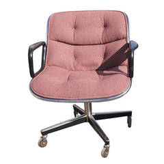 Original 1960's Charles Pollock Executive Chair for Knoll