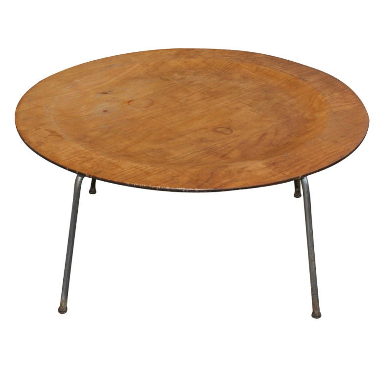 Rare Early Eames Coffee Table For Evans At 1stdibs