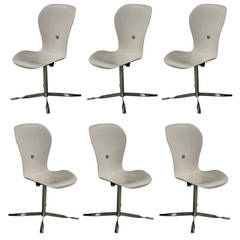 Six Ion Chairs By Gideon Kramer