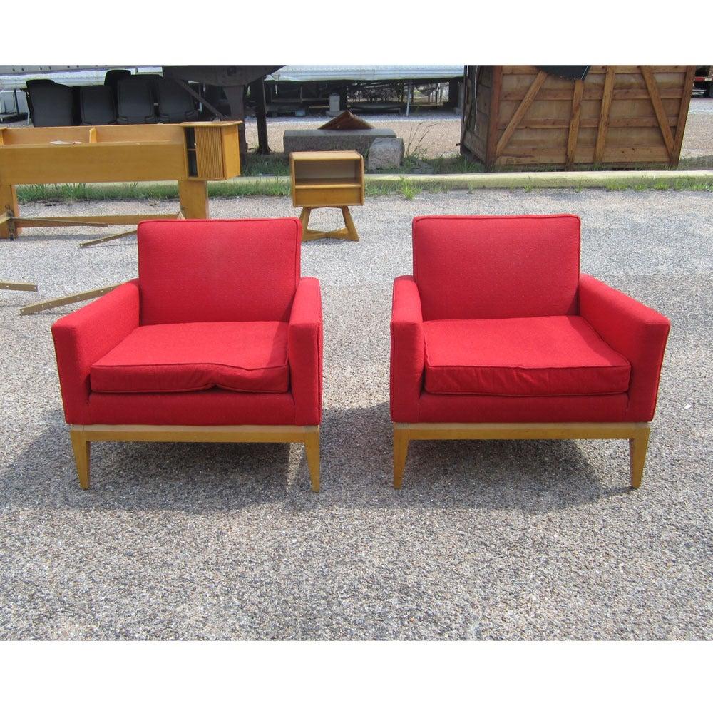 Vintage Mid-Century Heywood Wakefield M1161G Lounge Chairs