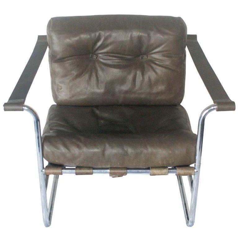pair of karl thut for stendig new bauhaus leather lounges at 1stdibs. Black Bedroom Furniture Sets. Home Design Ideas
