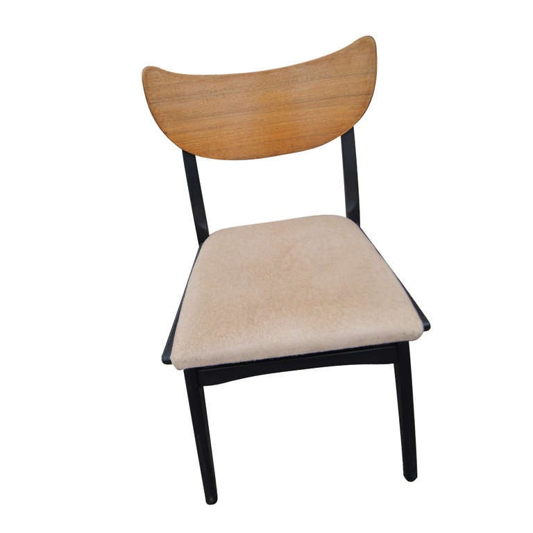 Set Of 4 Vintage Mid Century Danish Dining Chairs For Sale At 1stdibs