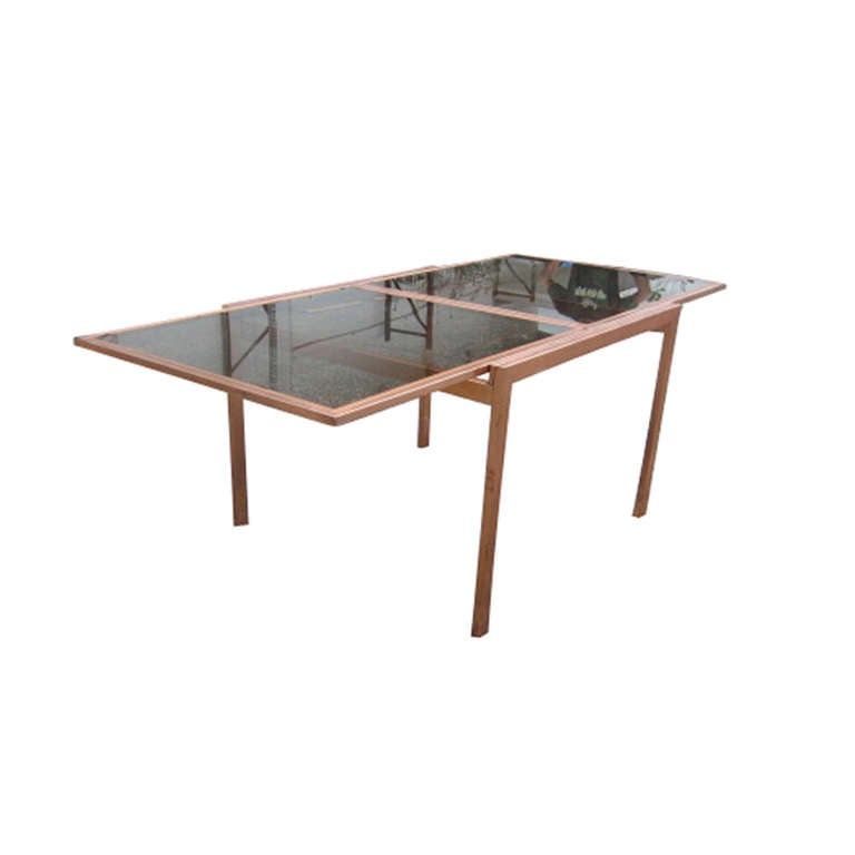 Vintage Milo Baughman Extension Dining Table For Sale At 1stdibs