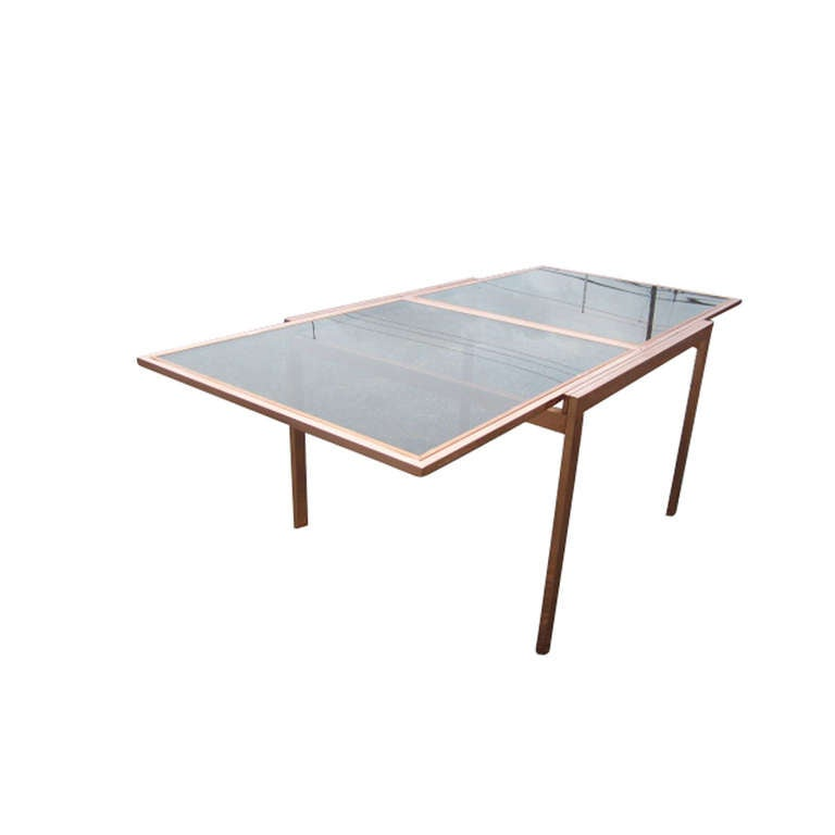 Vintage Milo Baughman Extension Dining Table At 1stdibs