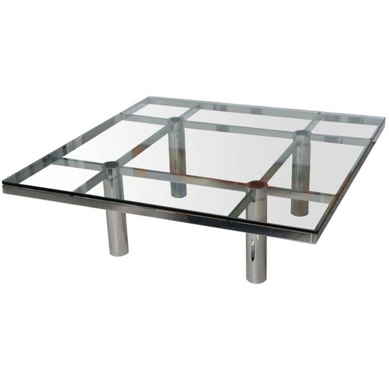Tobia Scarpa For Knoll Andre Coffee Table 1