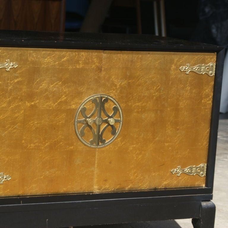American Renzo Rutili for Johnson Furniture Asian Motif Cabinet For Sale