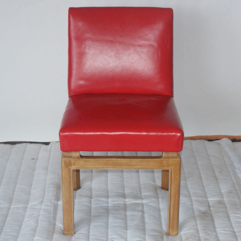 American Six Dining Chairs by Michael Taylor for Baker For Sale