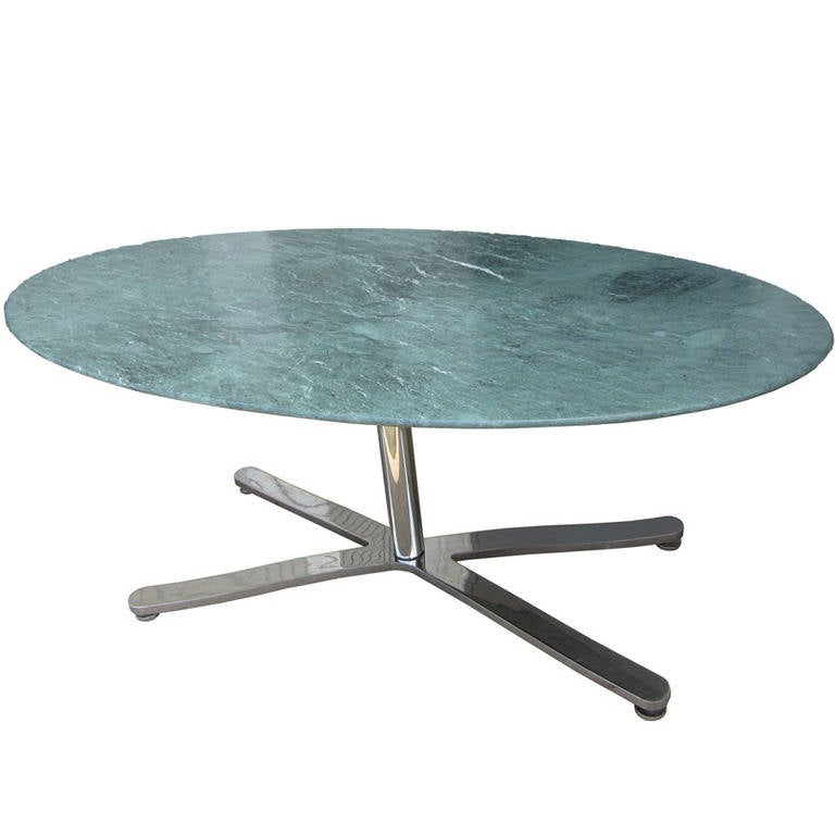 oval green marble zographos alpha table or desk at 1stdibs
