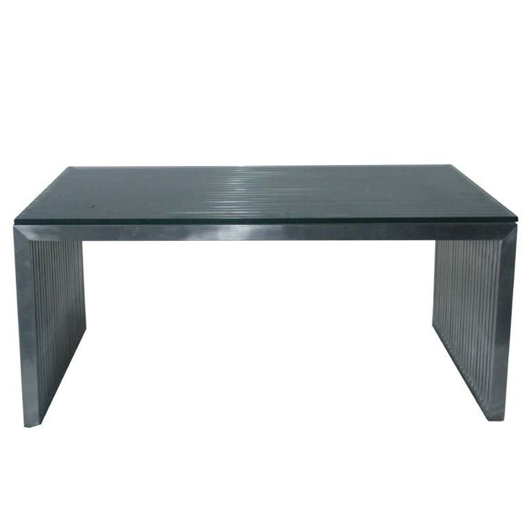 Amici Stainless Coffee Table By Nuevo Living At 1stdibs