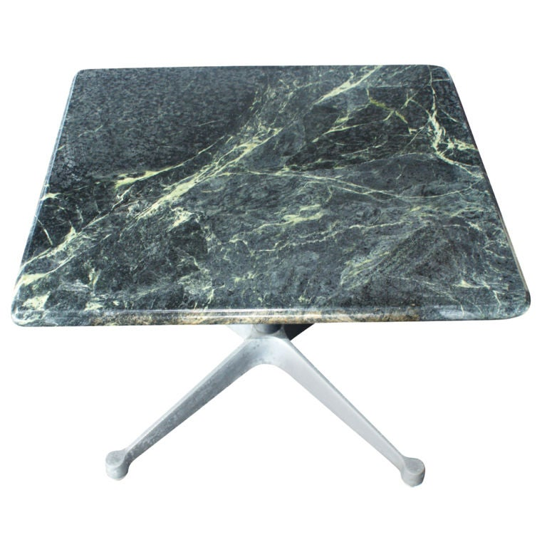Eames Marble Coffee Table: Eames For Herman Miller Green Marble Coffee Table For Sale