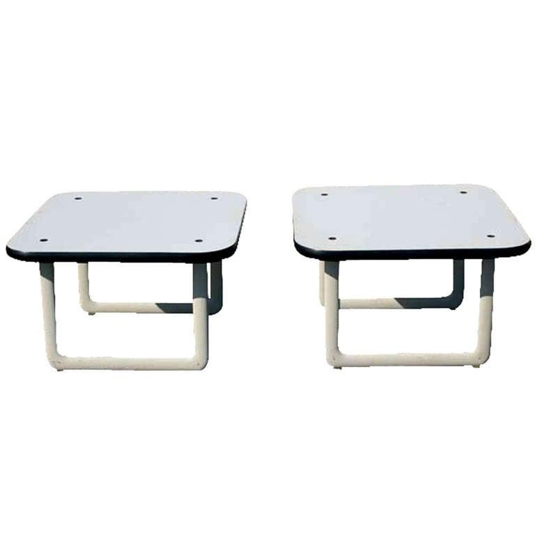 Mid Century Knoll Hannah Morrison Side Tables