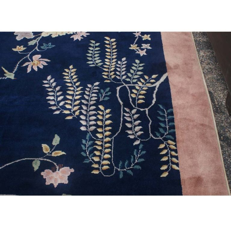 Hand Knotted 8x10 Peking Rug From India 50 Off For Sale