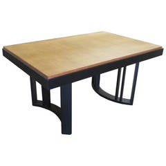 Morris of California Dining Table for Architectural Modern with Leaves