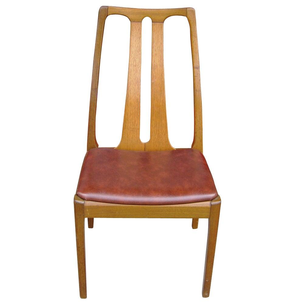 Six Vintage Danish Mid Century Modern Dining Chairs At 1stdibs