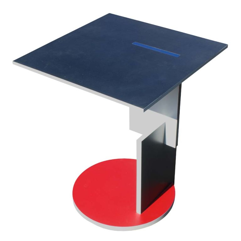 gerrit rietveld schroeder house side table at 1stdibs. Black Bedroom Furniture Sets. Home Design Ideas