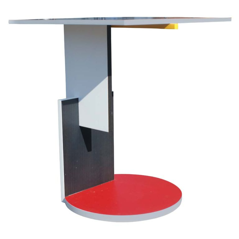 Gerrit Rietveld Schroeder House Side Table 3