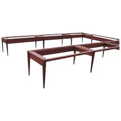 Monumental Custom Roger Deatherage Solid Mahogany Conference Table