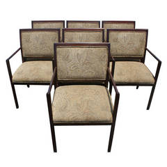 1 Ward Bennett For Brickel Upholstered Arm Chair