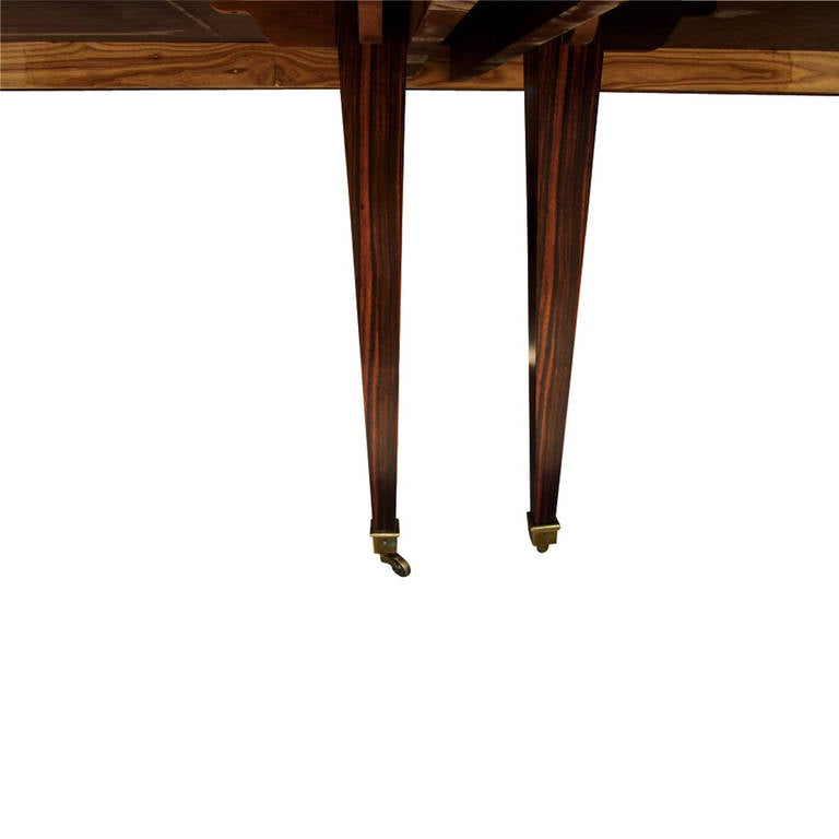 Vintage Extendable Rosewood Dining Table For Sale At 1stdibs