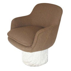 Leon Rosen For Pace Collection Swivel Arm Chair