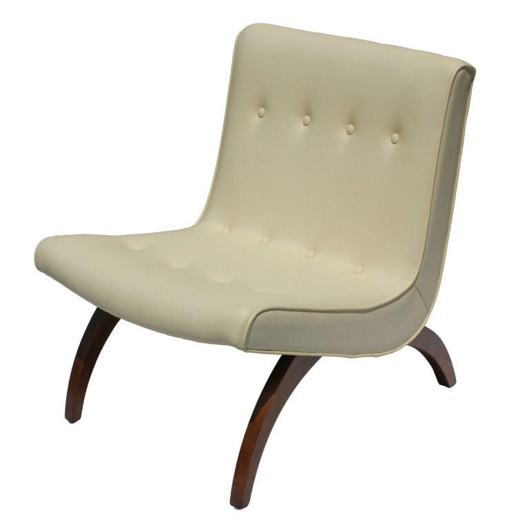 Milo Baughman Scoop Chair 3