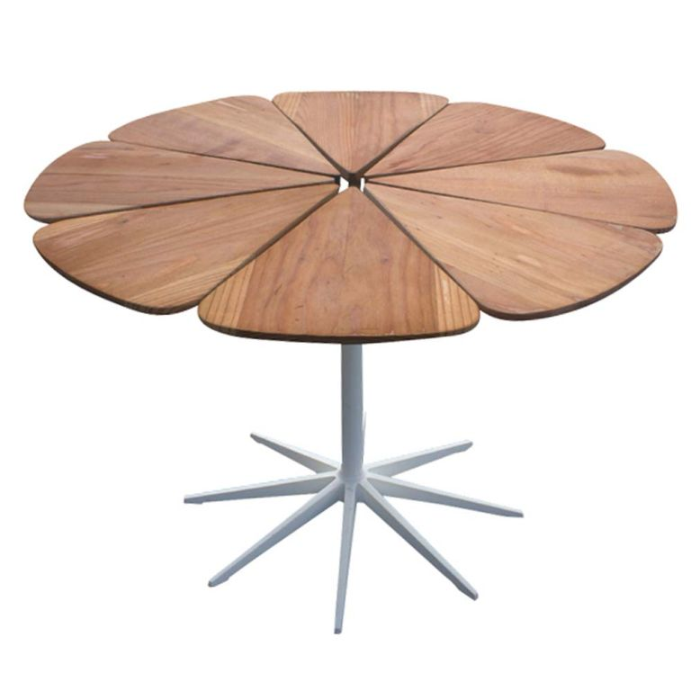 Richard Schultz For Knoll Petal Dining Table At 1stdibs