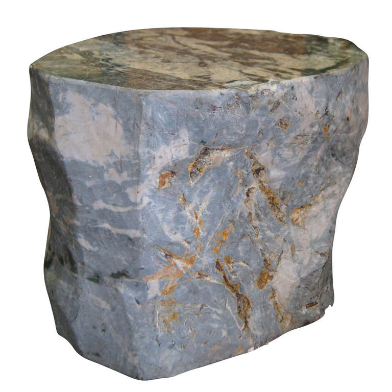 Vintage Scuptural Petrified Wood Side Tables At 1stdibs