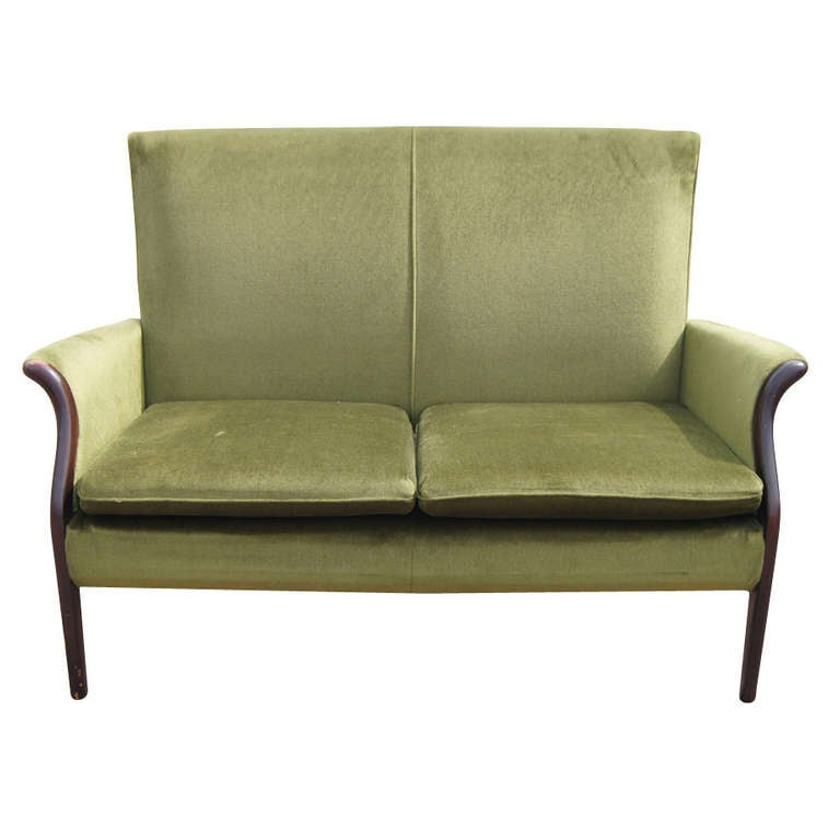 vintage froxfield two seater sofa by parker knoll at 1stdibs. Black Bedroom Furniture Sets. Home Design Ideas