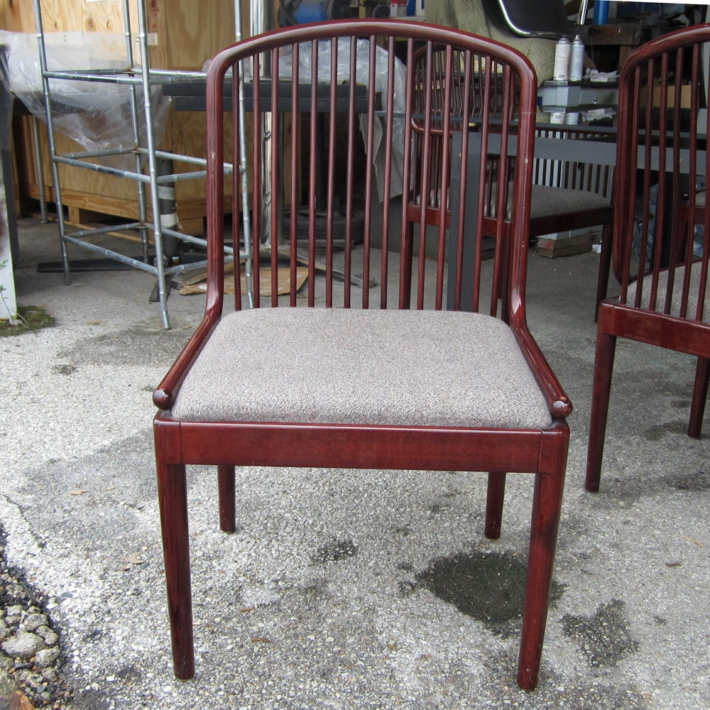 Set Of Six Vintage Davis Allen Chairs For Stendig 2