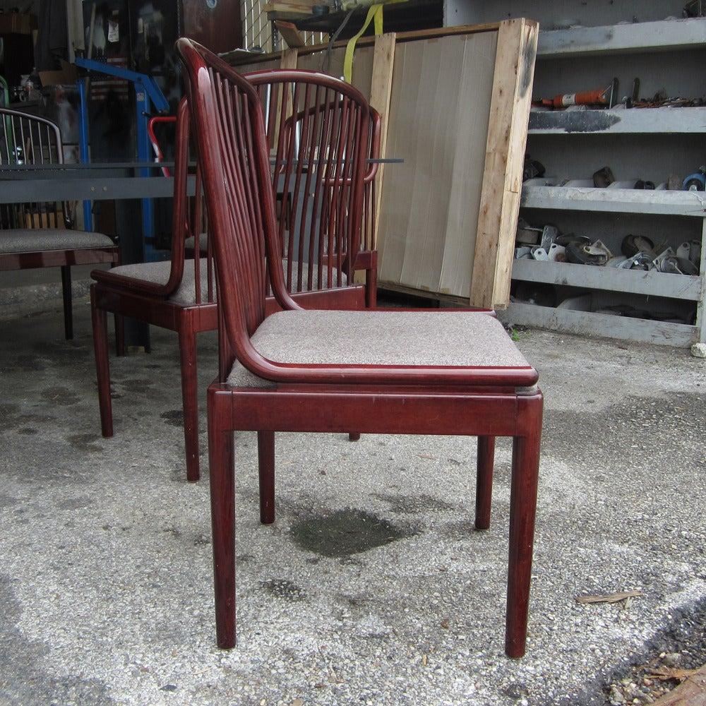 Superb Set Of Six Vintage Davis Allen Chairs For Stendig 3