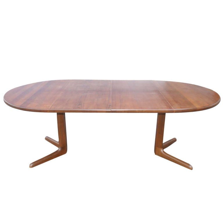 Danish Niels O M Ller Dining Table And Six Erik Buch Chairs 20 Off