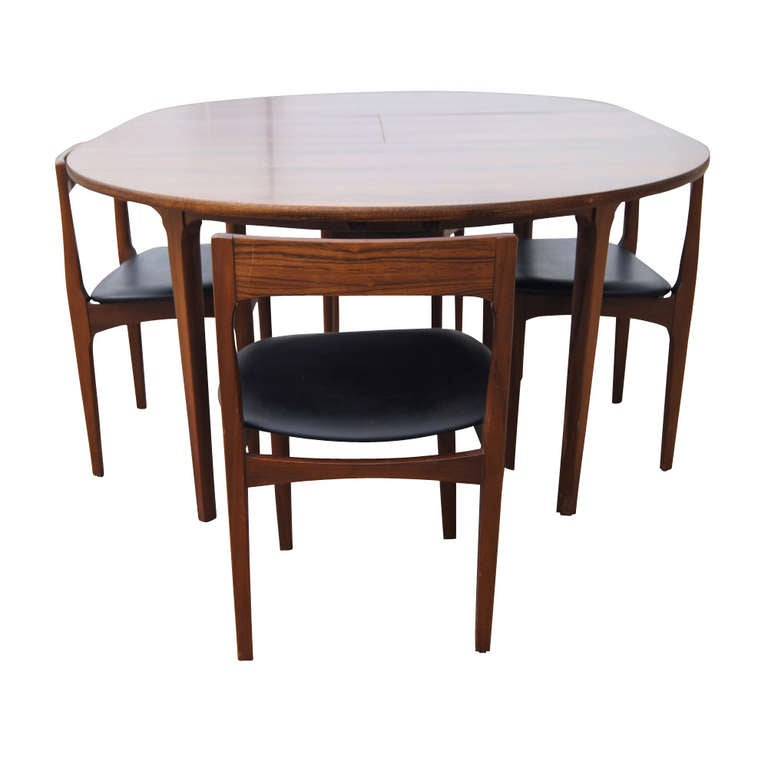 66 vintage expandable butterfly leaf dining table for for Dining room table replacement leaf
