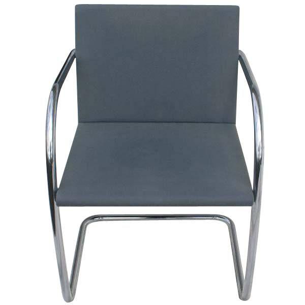 Mies Van Der Rohe For Knoll Thin Pad Brno Chair