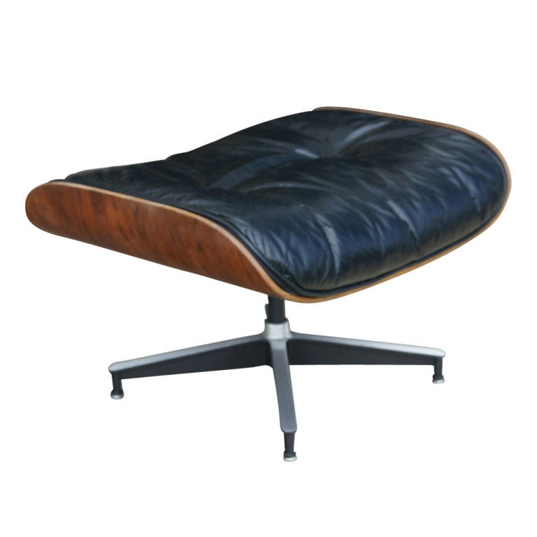 Rare early eames for herman miller lounge chair and - Herman miller lounge chair and ottoman ...