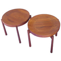 Pair of Vintage Jens Quistgaard Tray Tables
