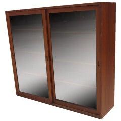 Vintage Öresund Bookcase Cabinet by Børge Mogensen for Karl Andersson & Soner