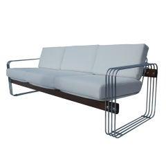 Vintage Heinz Meier Stendig Hausmann Sofa Couch