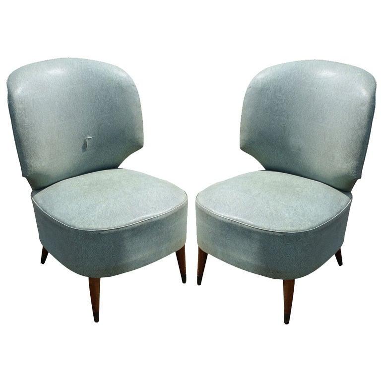 Pair of Classic Modern Italian Chairs