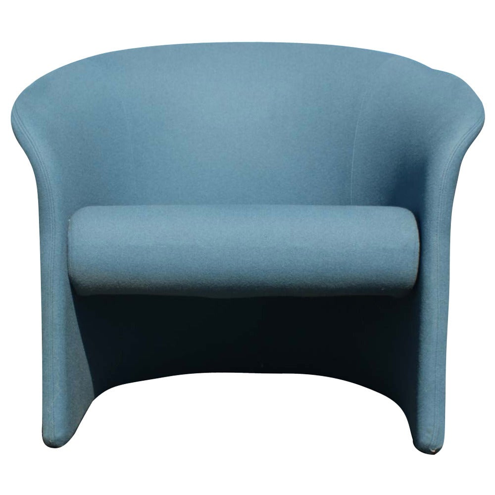 Club Lounge Chair By Massimo And Lella Vignelli At 1stdibs