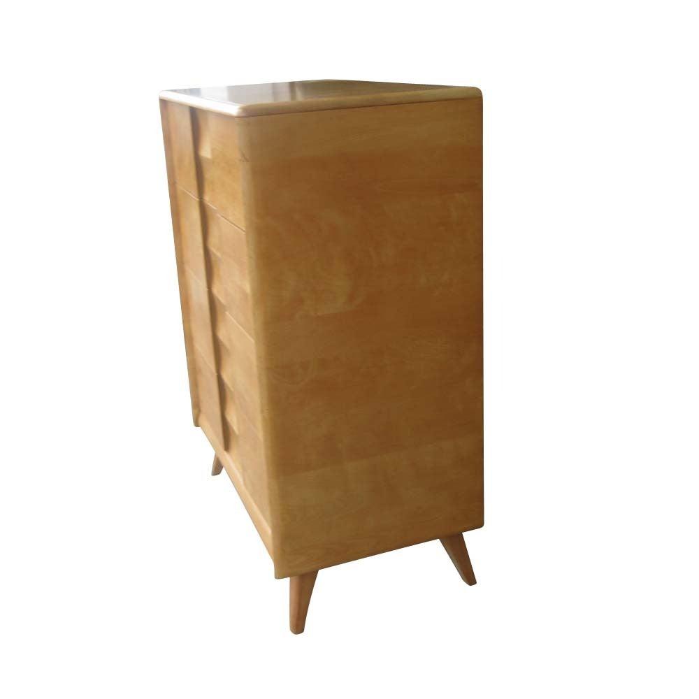 Vintage Heywood Wakefield M572 Highboy Dresser From The