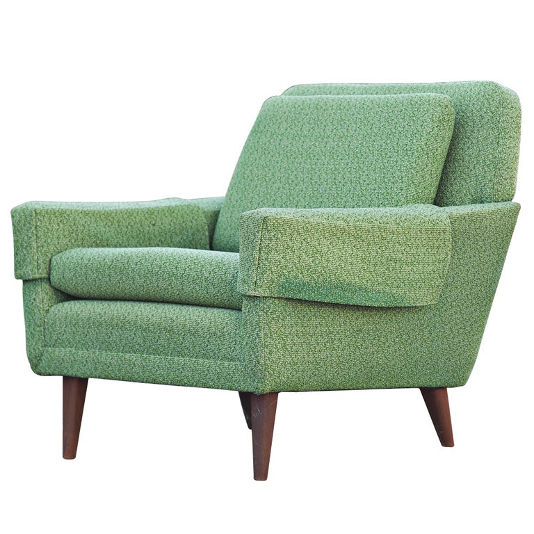 Mid Century Scandinavian Dux Lounge Chair For Sale At 1stdibs
