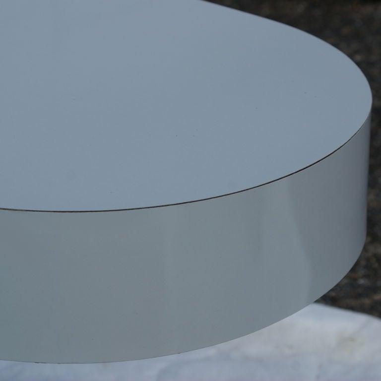American Milo Baughman For Thayer Coggin Console Sofa Table For Sale