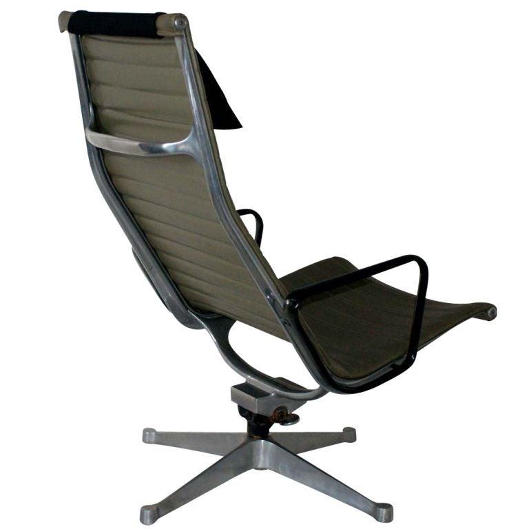 Eames for herman miller aluminum group lounge chair and - Herman miller eames lounge chair and ottoman ...