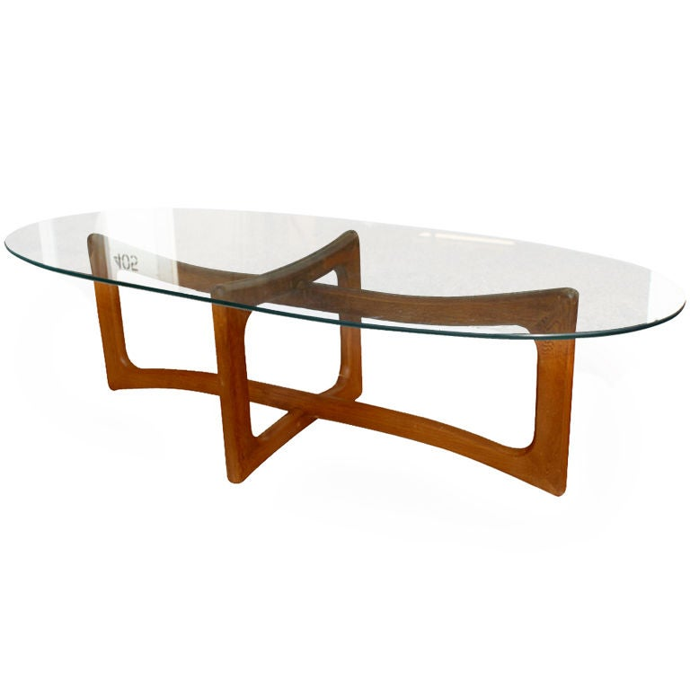 Https Www 1stdibs Com Furniture Tables Coffee Tables Cocktail Tables Adrian Pearsall Walnut Coffee Table Id F 483999