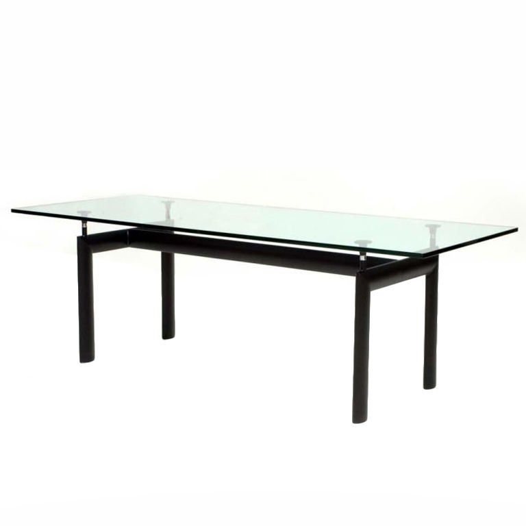 cassina le corbusier lc6 dining table at 1stdibs. Black Bedroom Furniture Sets. Home Design Ideas